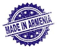在亚美尼亚邮票封印做的被抓的织地不很细 皇族释放例证