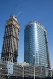 在亚洲,中国,北京,在大厦的建筑 免版税库存照片