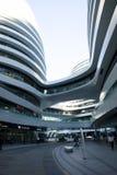 在亚洲,中国,北京,苏荷区,银河,现代建筑学 库存照片