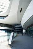 在亚洲,中国,北京,苏荷区,银河,现代建筑学 库存图片