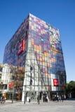 在亚洲,北京,中国,打开购物区, Taikoo李三里屯 库存图片