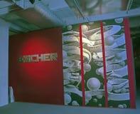 在产业城市, NY的Escher展览 库存图片