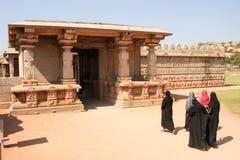 在亨比的哈扎拉Rama寺庙 免版税库存图片