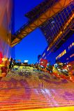 在京都驻地的万圣夜照明 库存图片