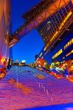 在京都驻地的万圣夜照明 免版税库存照片