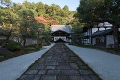 在京都Eikan Zenrin籍寺庙 免版税库存图片