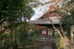 在京都Eikan Zenrin籍寺庙 库存照片