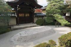 在京都Eikan Zenrin籍寺庙 免版税库存照片