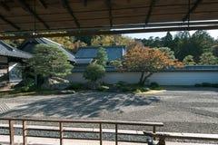 在京都Eikan Zenrin籍寺庙 库存图片