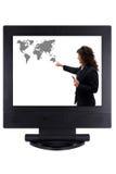 在企业世界范围内 免版税库存照片