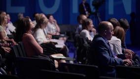 在企业教育会议的观众位子 影视素材