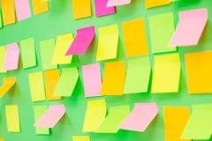 在企业概念的许多提示 免版税库存图片