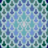 在伊斯兰教的样式的无缝的几何样式。 免版税库存图片