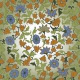 在伊斯兰教的Foral主题的纹理。 图库摄影