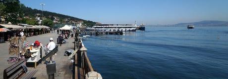 在伊斯坦布尔附近的Islands王子,土耳其 库存照片