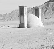 在伊朗古色古香的寺庙 库存图片