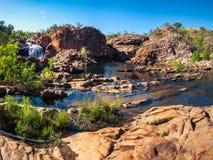 在伊迪丝的全景下跌,凯瑟琳,澳大利亚 免版税库存照片