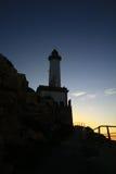在伊维萨岛的灯塔 免版税库存图片