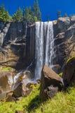 在优胜美地国家公园的春天秋天 库存图片