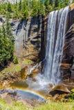 在优胜美地国家公园的春天秋天 库存照片