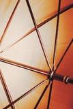 在伞里面的抽象射击 库存照片