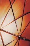 在伞里面的抽象射击 免版税图库摄影