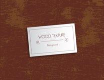 在传染媒介的简单的木纹理 免版税库存图片