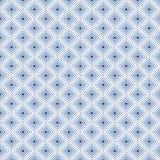 在传染媒介无缝的样式的靛蓝方形的背景 免版税库存图片