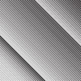 在传染媒介的对角倾斜锋利线样式 向量例证