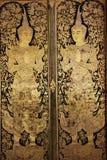在传统泰国样式绘画的神仙的天使 免版税库存图片