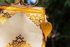 在传统北装饰纸旗子的网眼图案艺术 免版税库存照片