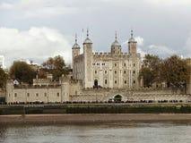 在伦敦塔的看法 免版税图库摄影