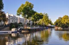 在伦敦的一点威尼斯运河 免版税图库摄影