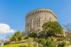在伦敦附近的温莎城堡 免版税库存照片