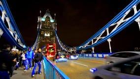 在伦敦,英国交易十字架塔桥梁 影视素材