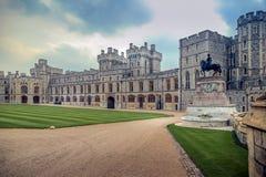 在伦敦,英国附近的温莎城堡 库存照片