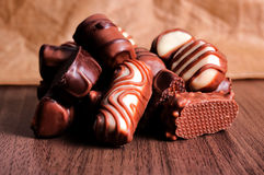 比利时chcocolate 免版税库存图片