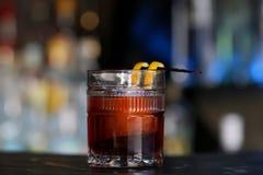 在低玻璃的鸡尾酒 免版税库存图片