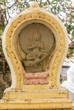在佛教寺庙的荐骨的装饰 免版税图库摄影
