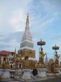 在佛教寺庙的遗物 库存照片