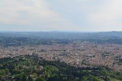 在佛罗伦萨之上 库存照片