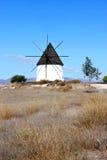 在佩雷斯・西班牙附近的古老安大路西亚fernan磨房 图库摄影