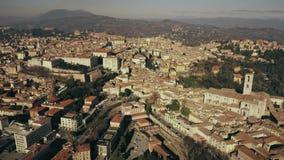 在佩鲁贾,意大利的飞行  库存图片