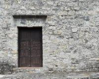 在使命的老门 免版税库存照片