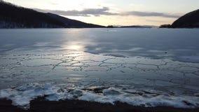 在俄国海岛的海湾的海景 影视素材