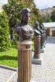 在俄罗斯的统治者的胡同的胸象在莫斯科 图库摄影