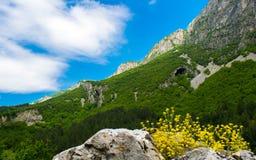 在保加利亚语弗拉察巴尔干的山风景 图库摄影