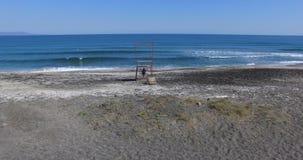 在保加利亚语波摩莱的离开的国家海滩 免版税图库摄影