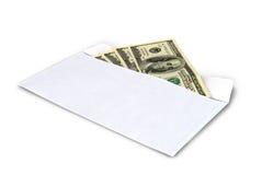 在信包的货币 免版税库存图片