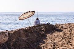 在假期期间的土耳其夏天镇-土耳其 免版税库存照片